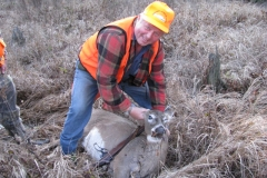 Ted with doe
